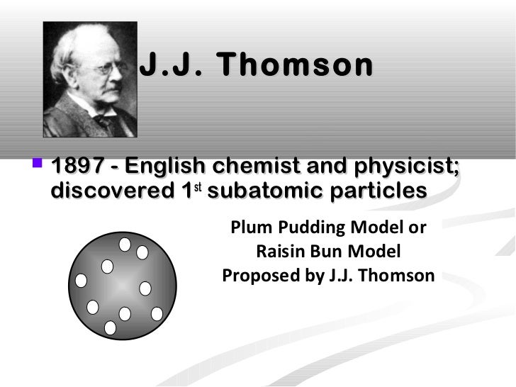 an analysis of the science theory by j j thomson Jj thomson's cathode ray tube experiments led to a very important scientific discovery, the electron in this lesson learn what a cathode ray.