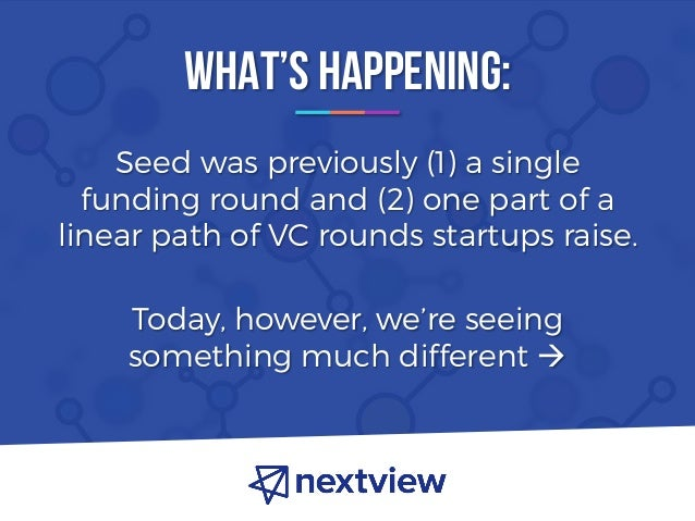 The Atomization of Seed Venture Capital - NextView Ventures Slide 3