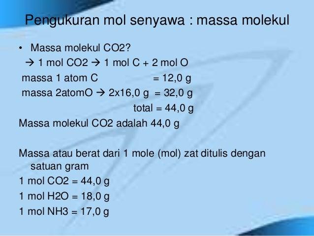 Atom, molekul dan rumus kimia