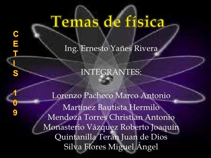 Ing. Ernesto Yañes Rivera         INTEGRANTES:  Lorenzo Pacheco Marco Antonio    Martínez Bautista Hermilo Mendoza Torres ...