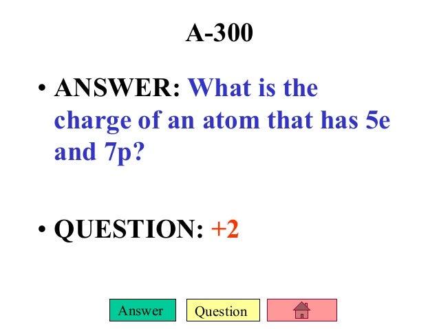 Atoms periodic table jeopardy urtaz Gallery