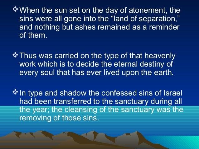 Atonement symbolism