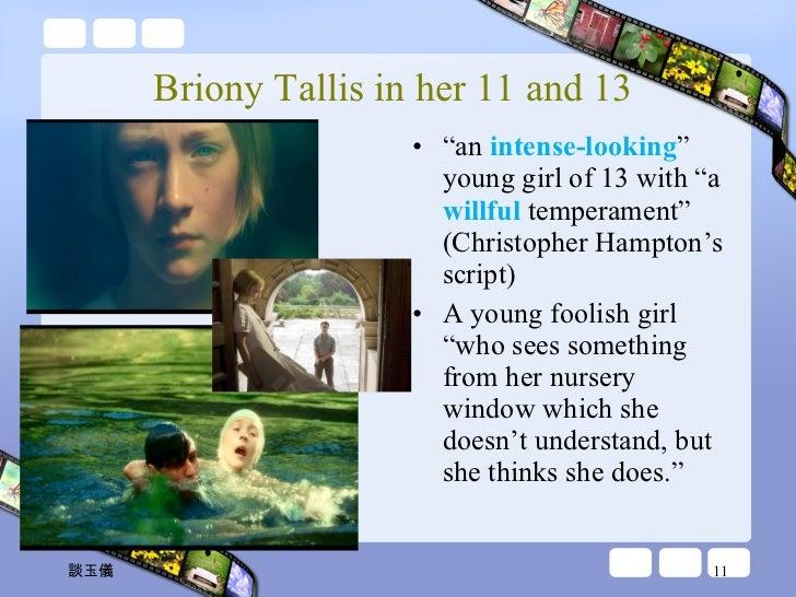 briony tallis character analysis