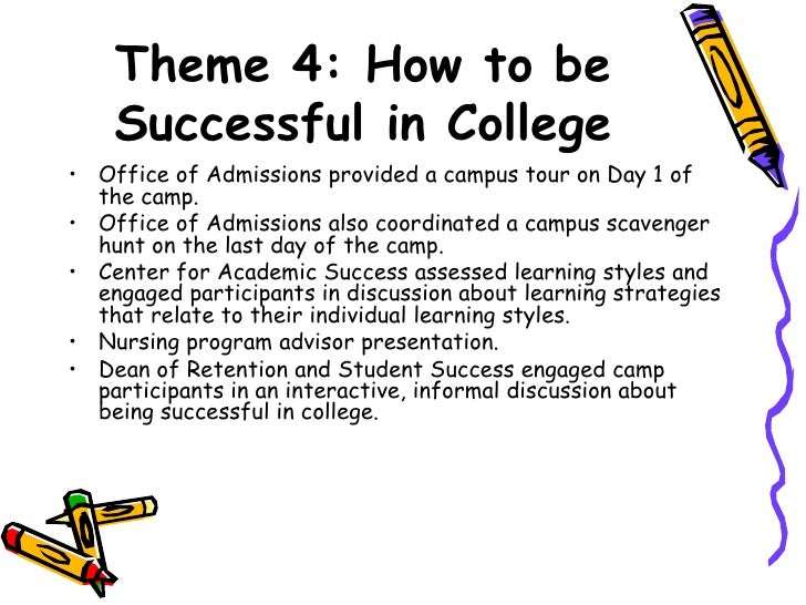 how to be successful in college high school students preparations All students, regardless of income, would have access to a quality, college  preparatory high school education that prepares them for success in.