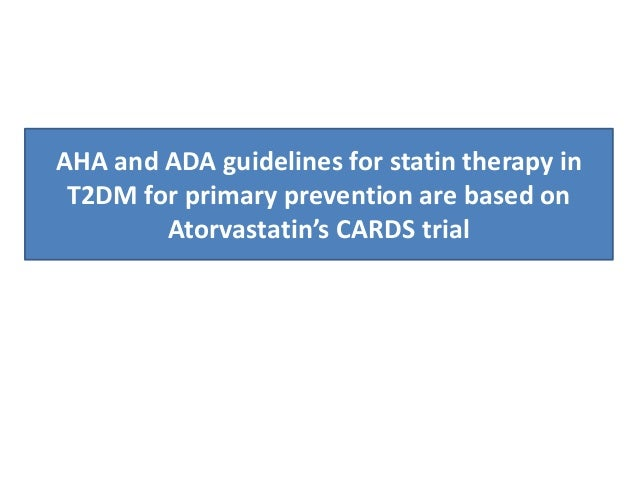 aha guidelines for statin therapy