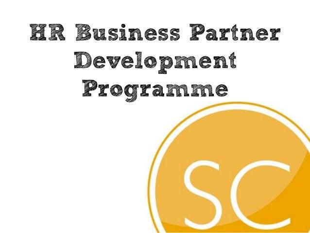 HR Business Partner   Development   Programme