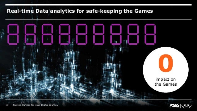 Real-time Data analytics for safe-keeping the Games 0impact on the Games 16 Trusted Partner for your Digital Journey