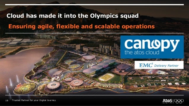 Cloud has made it into the Olympics squad Ensuring agile, flexible and scalable operations Delivery Partner 18 Trusted Par...