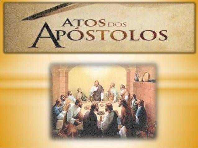 Atos dos Apostolos Slide 1