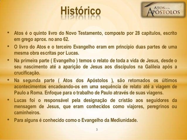 Atos dos Apostolos Slide 3