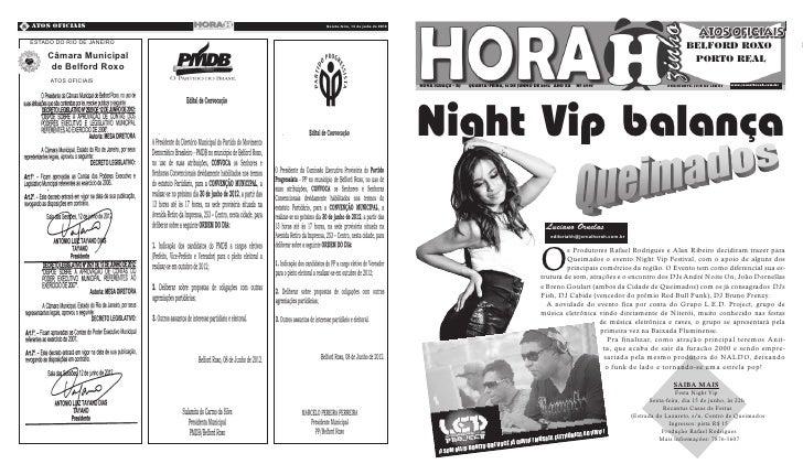 8 Atos Oficiais             Quarta-feira, 13 de junho de 2012   Quarta-Feira, 09 de Novembro de 2011 ESTADO DO RIO DE JANE...