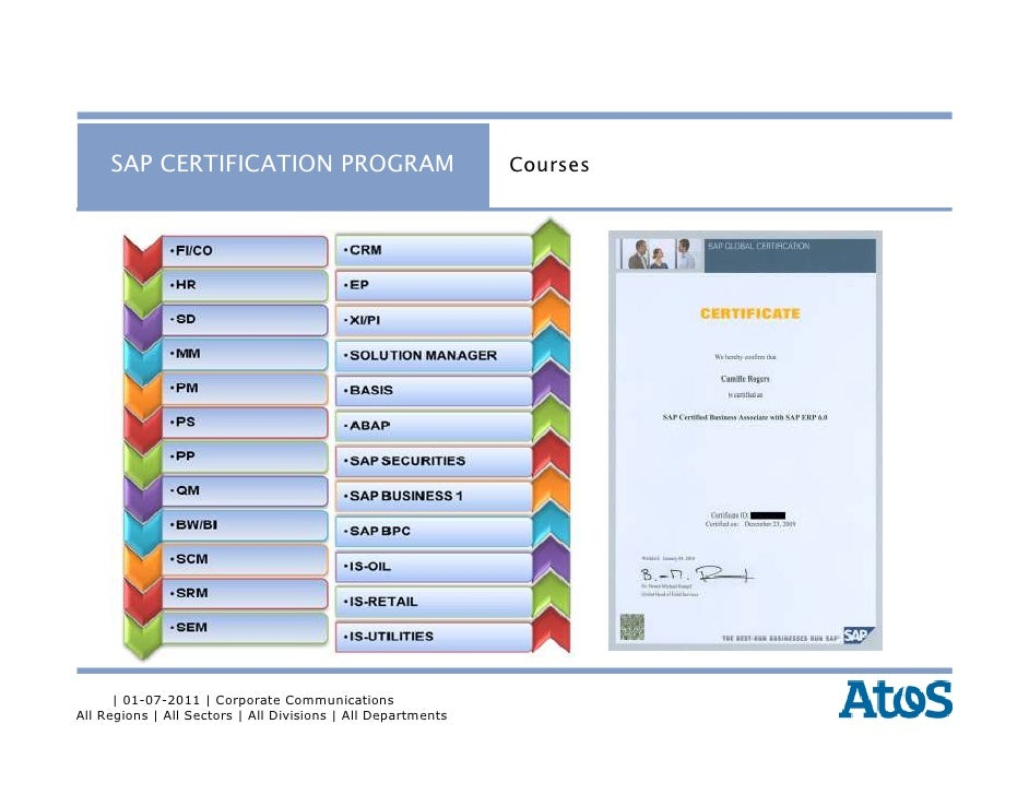 Atos india sap education training services group