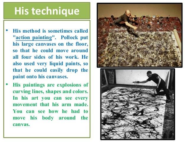 Jackson Pollock for kids