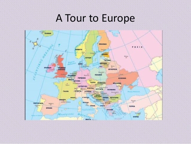 A Tour To Europe Task Of December - Tour to europe