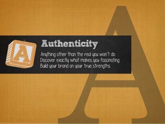 Your Guide to Personal Branding, A to Z Slide 3