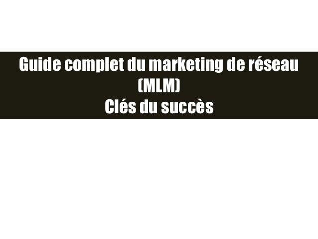MLM site de rencontre
