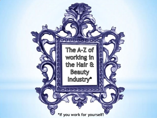 *If you work for yourself!