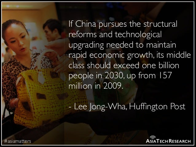 #asiamatters ASIATECHRESEARCH If China pursues the structural reforms and technological upgrading needed to maintain rapid...