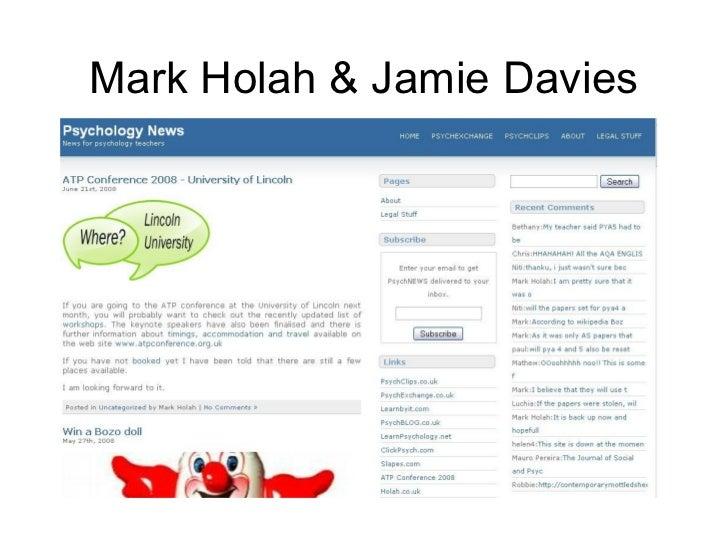 Mark Holah & Jamie Davies