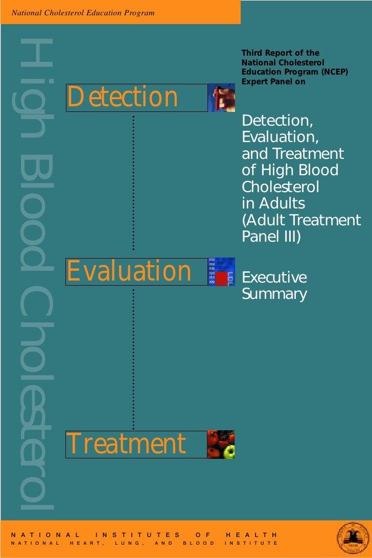 National Cholesterol Education Program High Blood Cholesterol                                                             ...