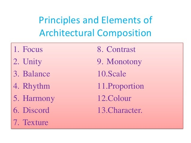 Principles of Architecture and qualities of architecture ... Balance Scale Sketch