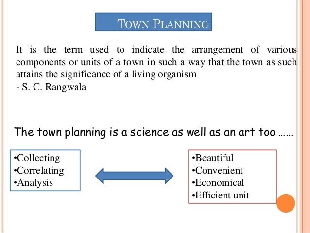 Architecture and town planning _Unit 3_SPPU_Town planning and various levels of planning by S. R. Kate Slide 2