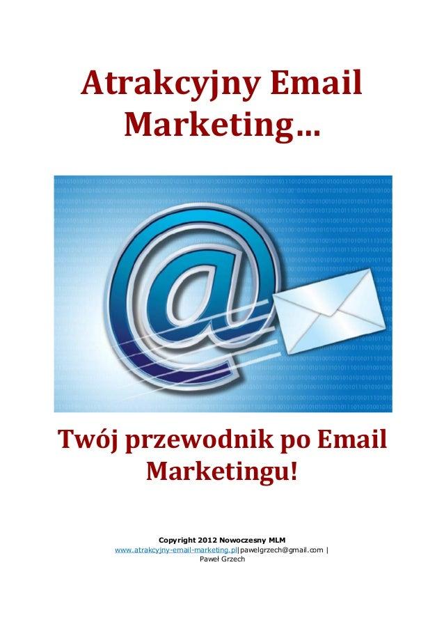 19b2026c60b436 Atrakcyjny Email Marketing…Twój przewodnik po Email Marketingu!