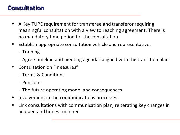 A Transition Methodology For Business Transfers And