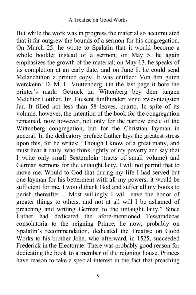 A treatise on good works by martin luther christian classic ebook a treatise fandeluxe Image collections