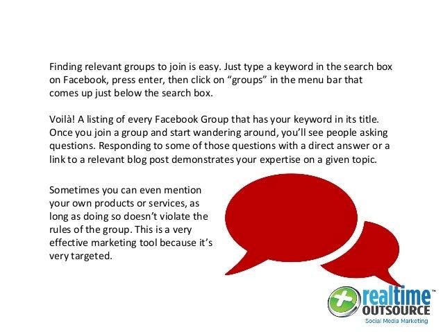 Facebook Groups a Trending Social Media Marketing Tool!
