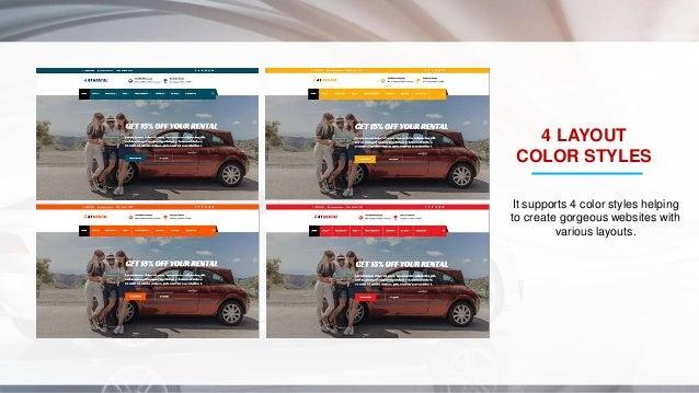 Car Rental Websites >> At Rental Responsive Joomla Car Rental Website Template