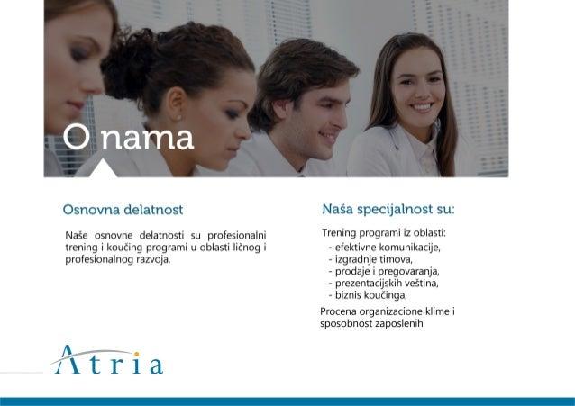 Atria - trening & koučing Slide 2