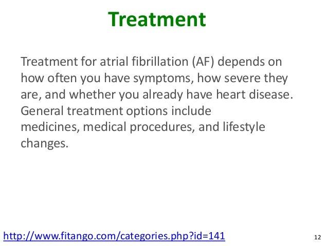 Best atrial fibrillation treatment options