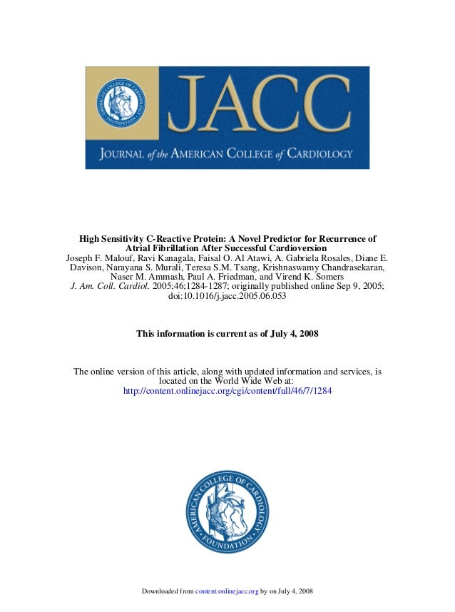 doi:10.1016/j.jacc.2005.06.053 2005;46;1284-1287; originally published online Sep 9, 2005;J. Am. Coll. Cardiol. Naser M. A...