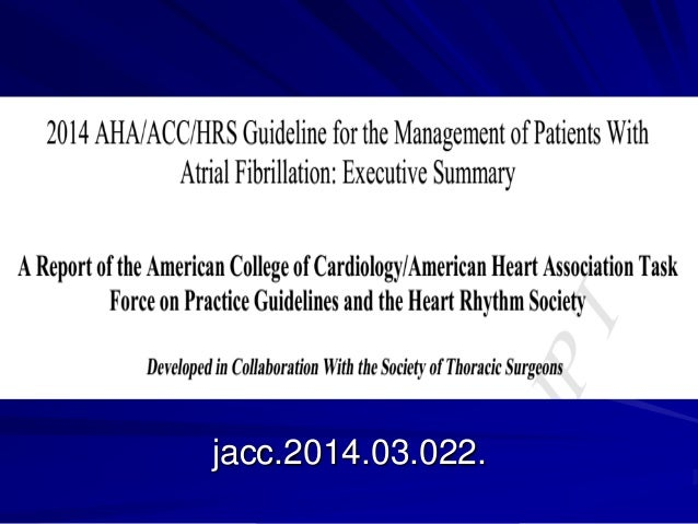 Atrial fibrillation guidelines in 2014. samir rafla Slide 2