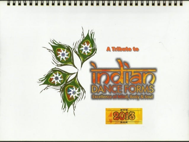 A tribute to Indian Culture and Heritage - Classical Dance forms :  calendar 2013