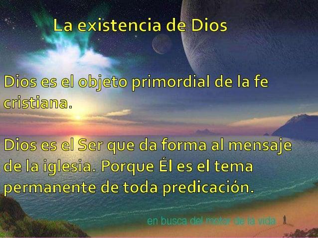 LA PERSONALIDAD DE DIOS