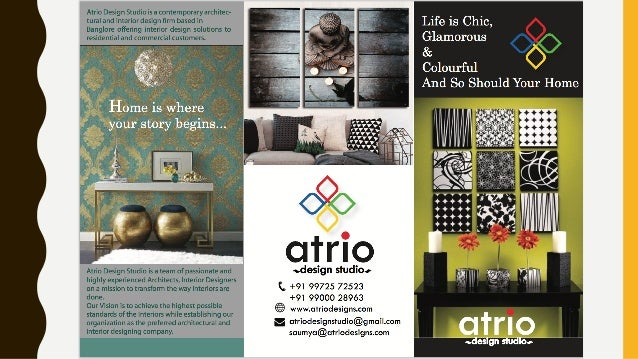 Atrio Design Studio Portfolio