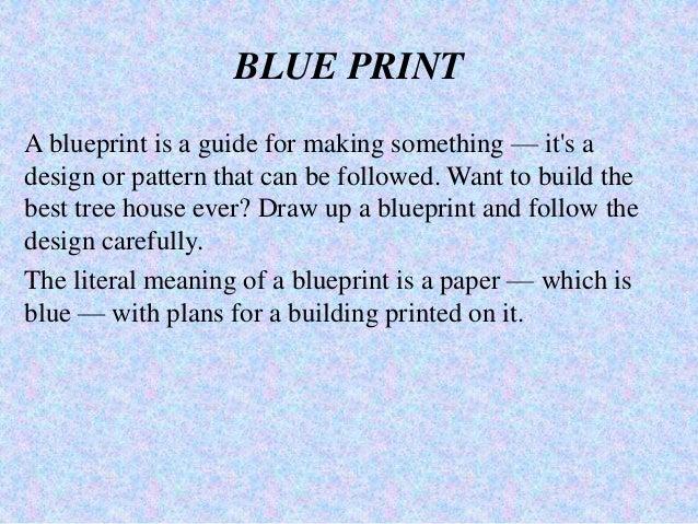 Achievement test 6 blue print a blueprint malvernweather Choice Image
