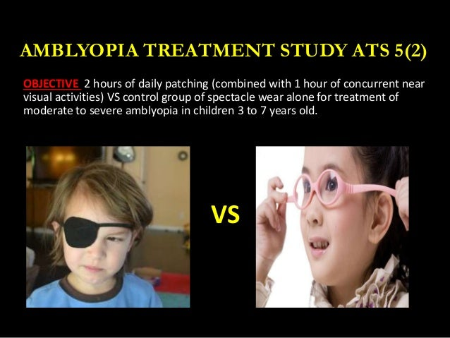 Results--Amblyopia Treatment Study (ATS I), Background ...