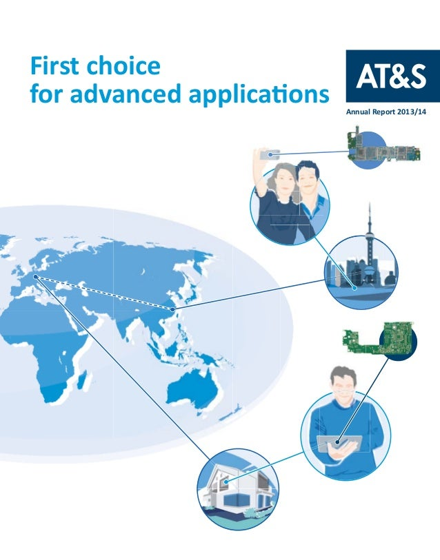 First choice for advanced applications Annual Report 2013/14