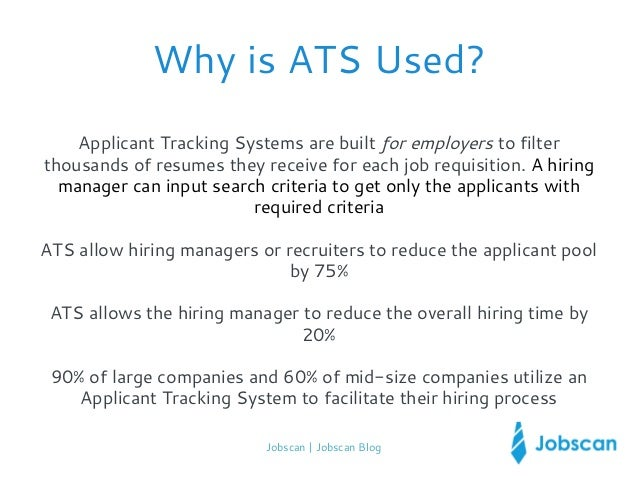 jobscan jobscan blog 4 why is ats