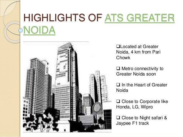 Ats Greater Noida Zeta One Luxury Apartments