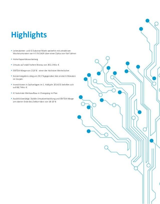  Leiterplatten- und IC-Substrat-Markt weiterhin mit attraktiven Wachstumsraten von 4-5 % CAGR über einen Zyklus von fünf ...