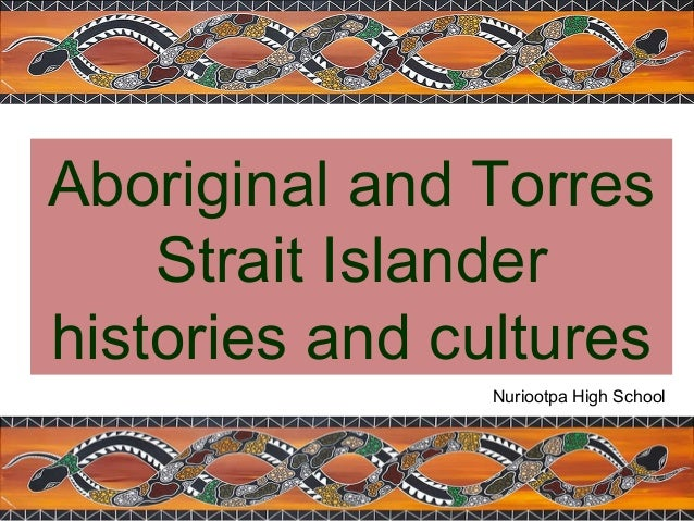 Aboriginal and Torres Strait Islander histories and cultures Nuriootpa High School