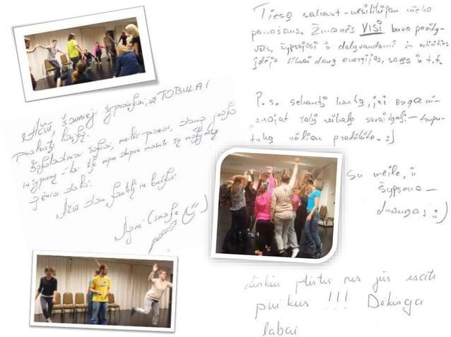 Animatorių mokymų KOVAS-2014 dalyvių atsiliepimai