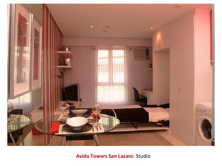 Avida Towers San Lazaro : Studio