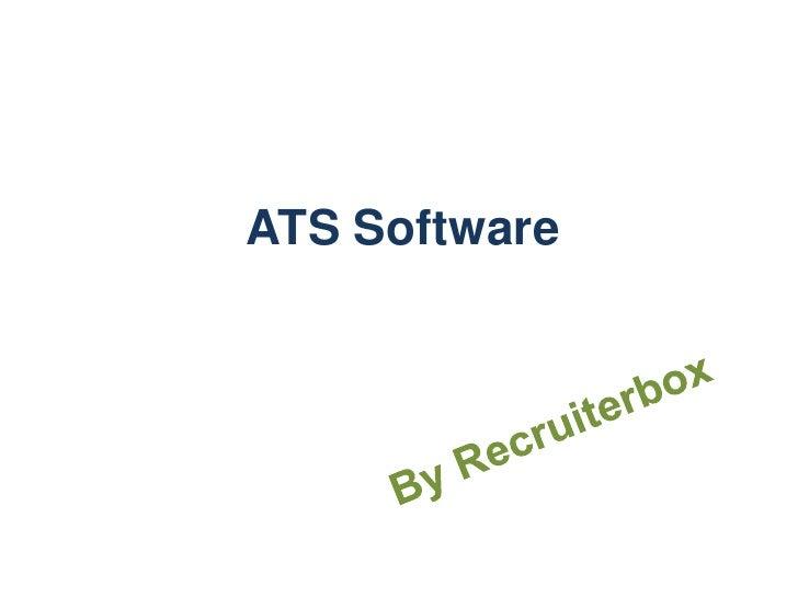 ATS Software