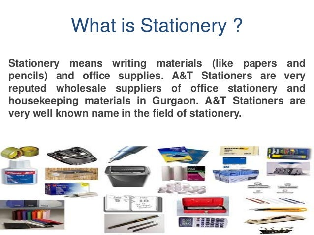 a t stationery a wholesale stationery supplier in