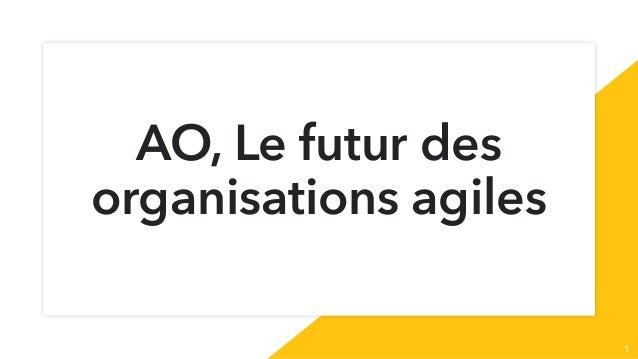 AO, Le futur des organisations agiles 1